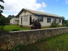 The gorgeous little church hall in Ha'atua village