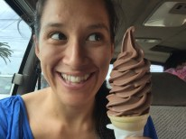 Here is a standard $2 soft serve cone...