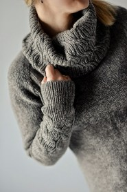 Lanvad Cowled Sweater by Justyna Lorkowska
