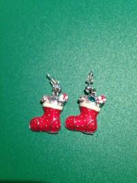 ugly christmas earrings | mandybelcanto