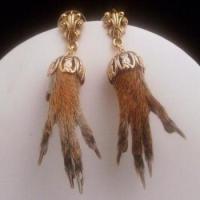 tacky christmas earrings