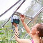 Solar-powered watering kit