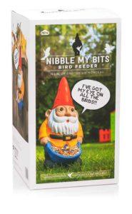 Nibble My Bits Gnome Bird Feeder