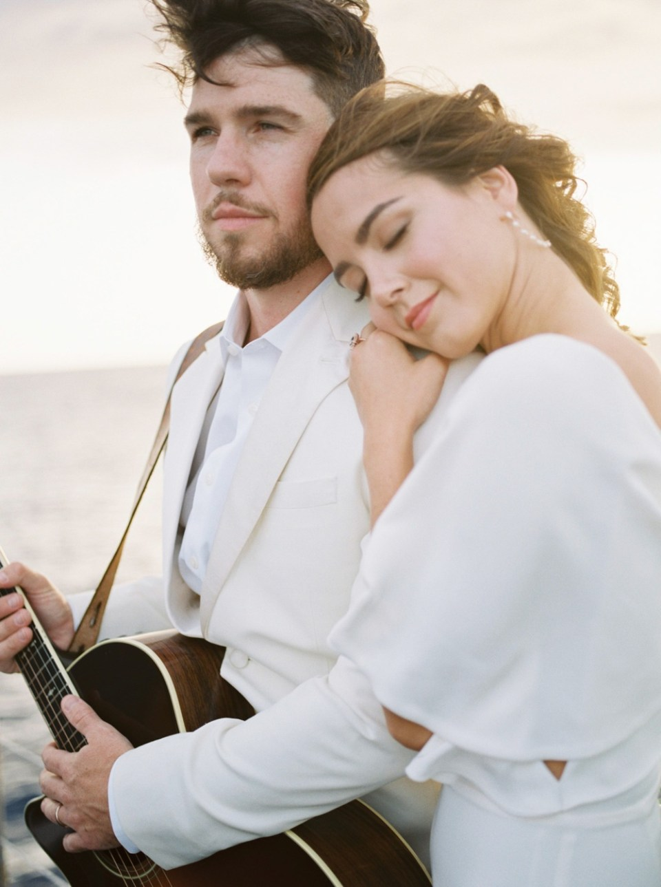 Engagement photos in the San diego Bay