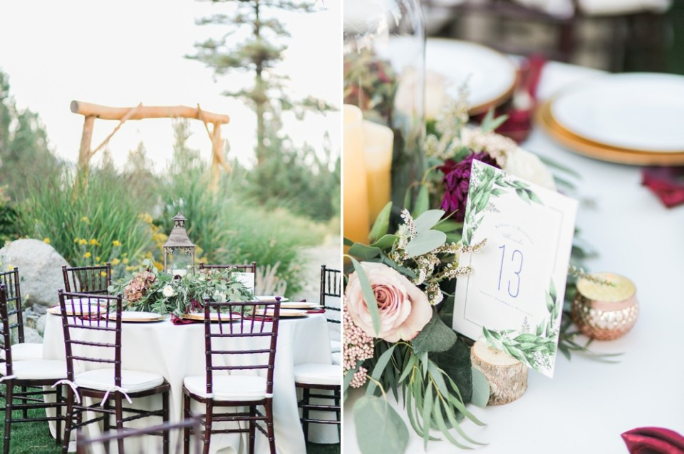 lake tahoe wedding venue, mountain wedding inspiration tannenbaum lake tahoe florist
