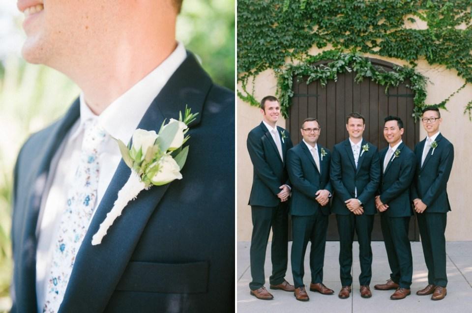 los robles greens wedding groomsmen