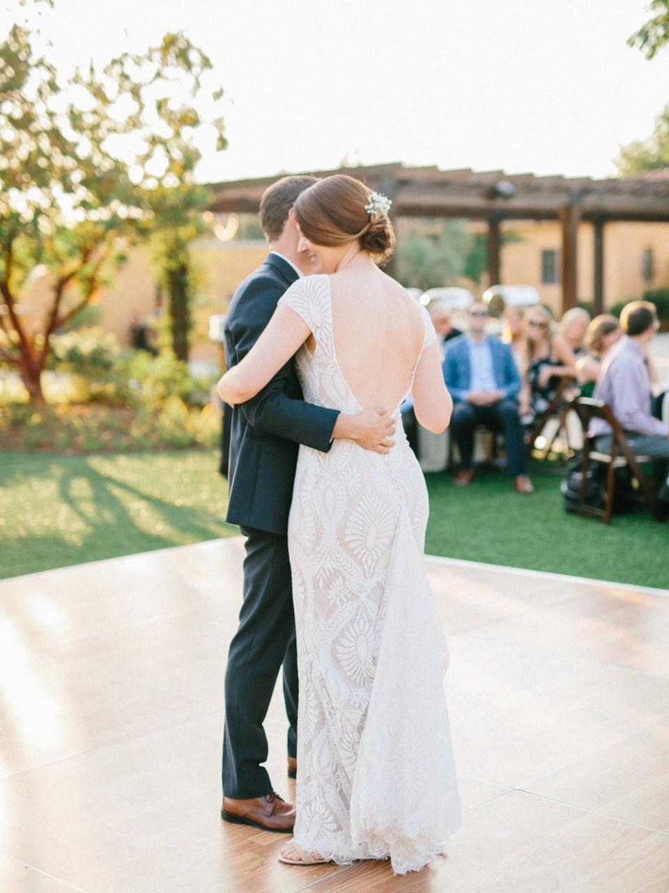 los robles greens wedding dance