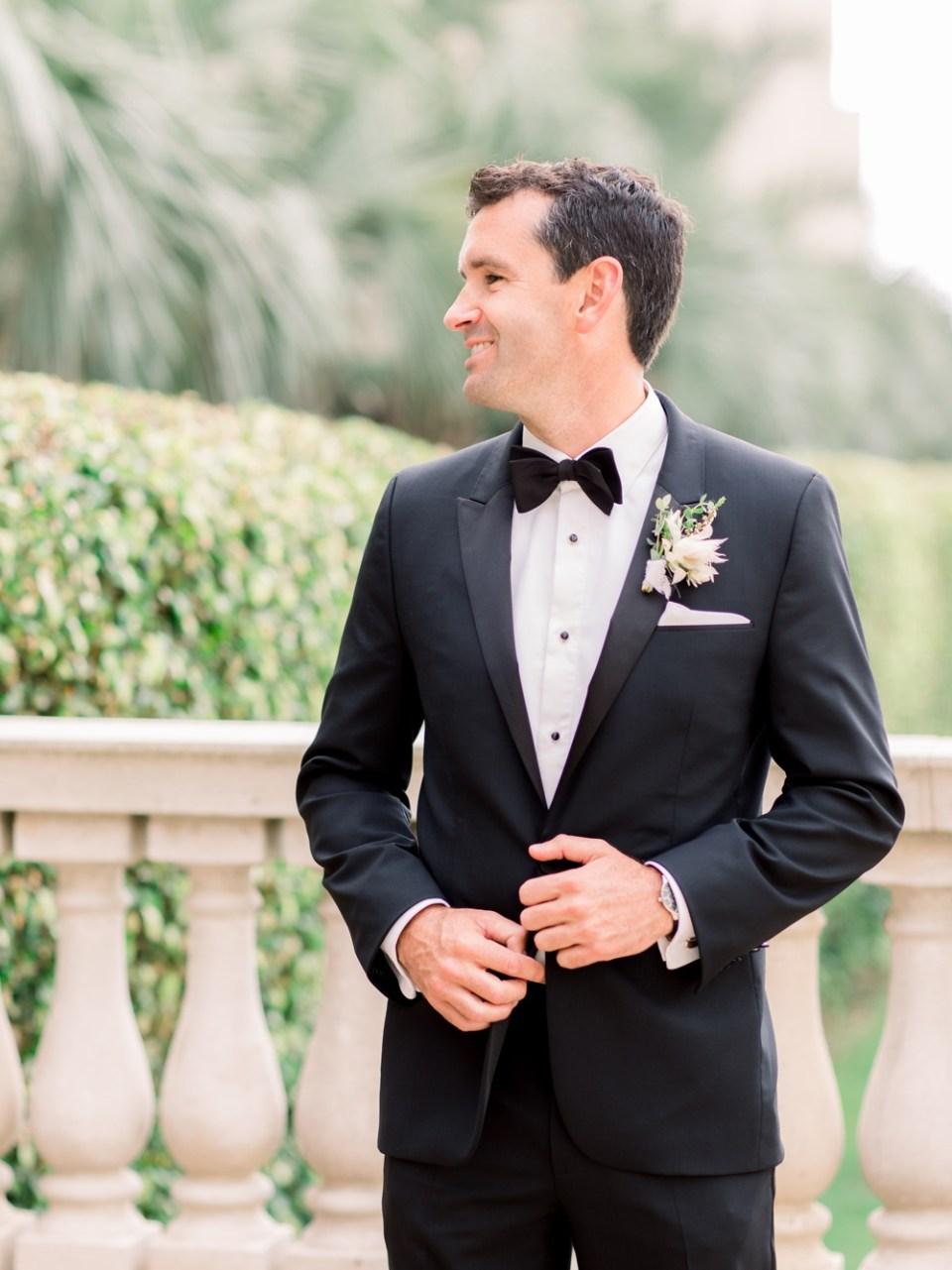 Hilton La Jolla Torrey Pines Wedding Groom