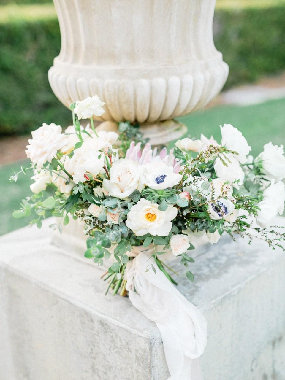 Bouquet At Torrey Pines Wedding