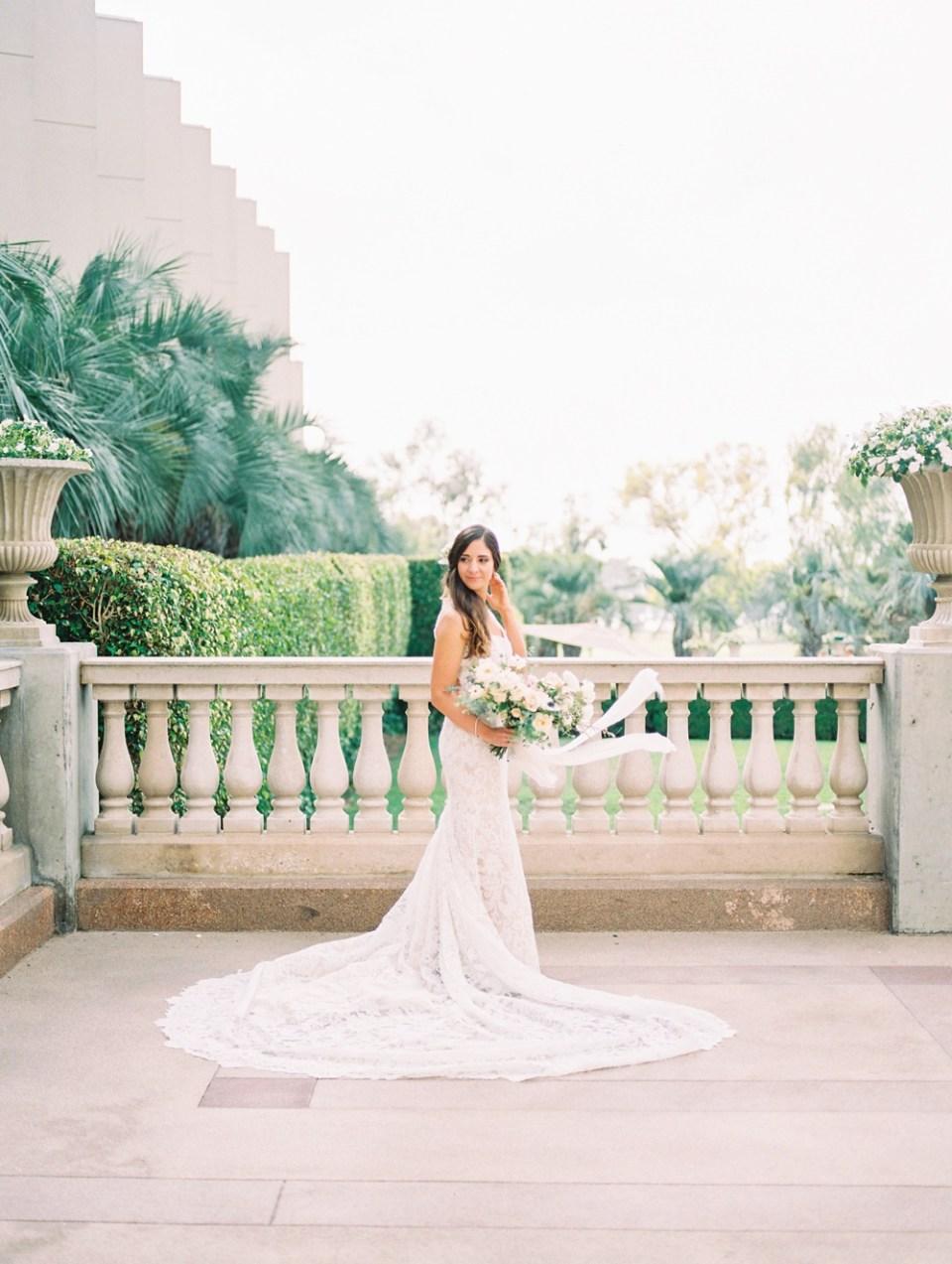 Hilton La Jolla Torrey Pines Wedding Bride
