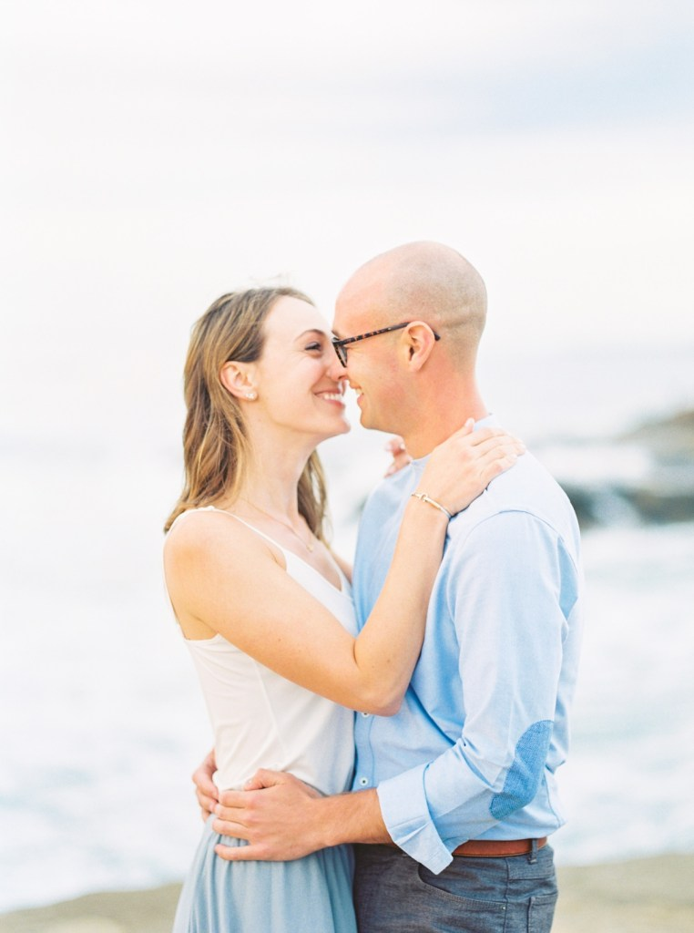 Engagement Photos At The Arch Sunset Cliffs San Diego
