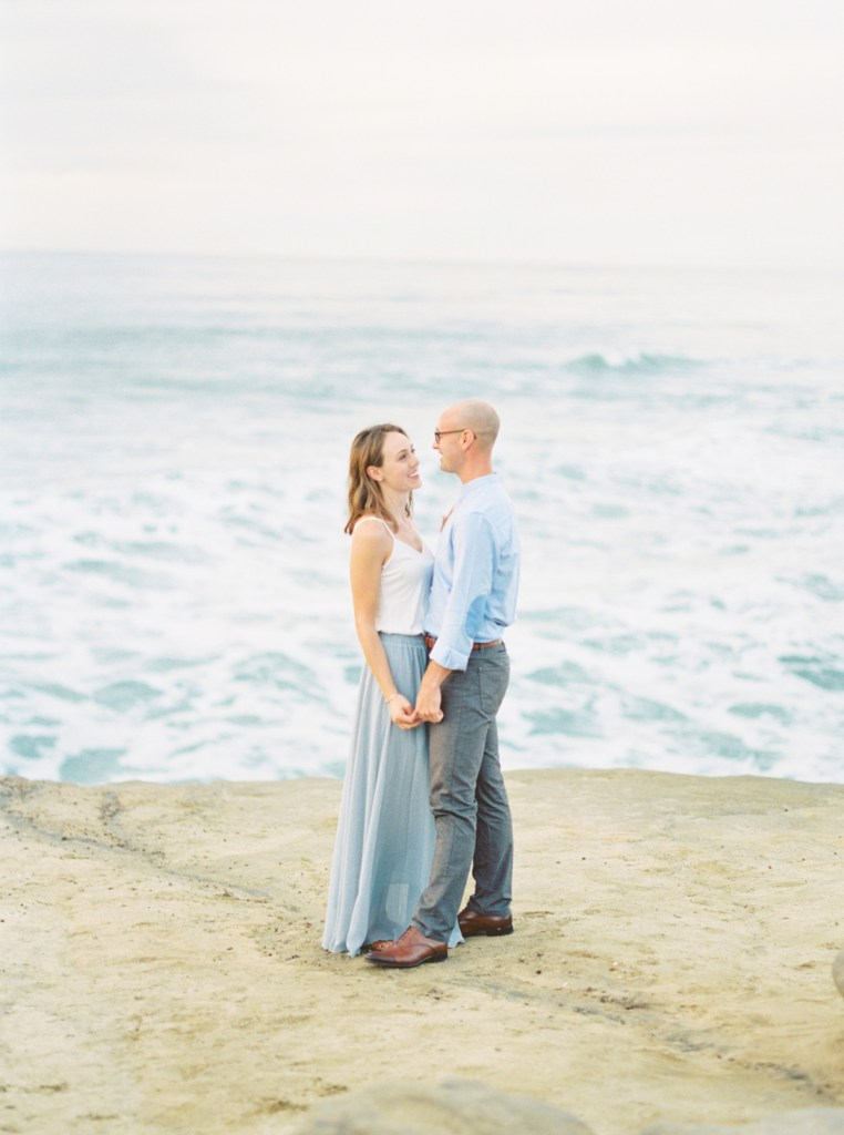 Engagement Photos At The Arch In San Diego