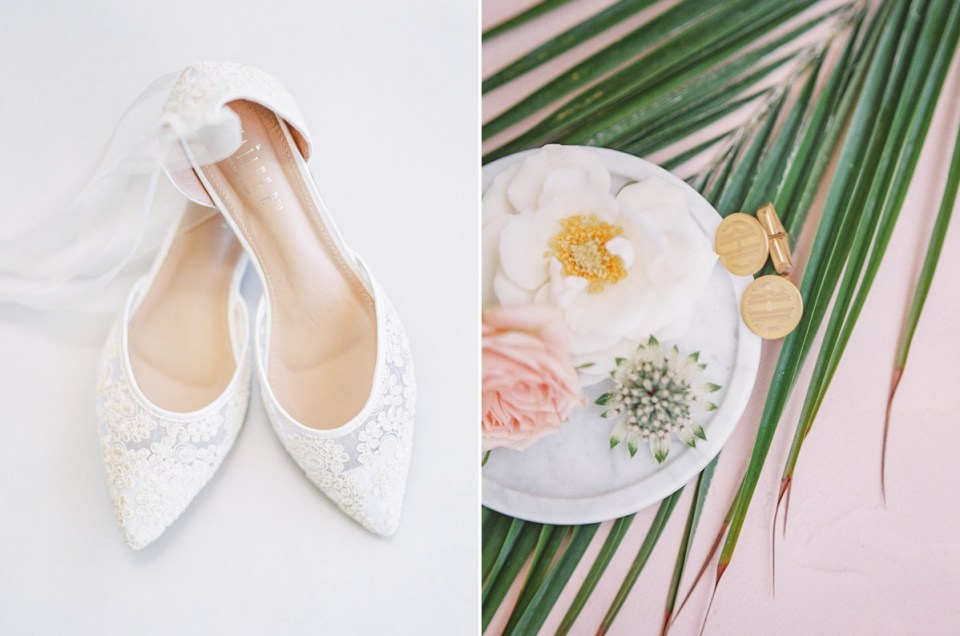 Blush And Dusty Rose Tropical Wedding In San Diego