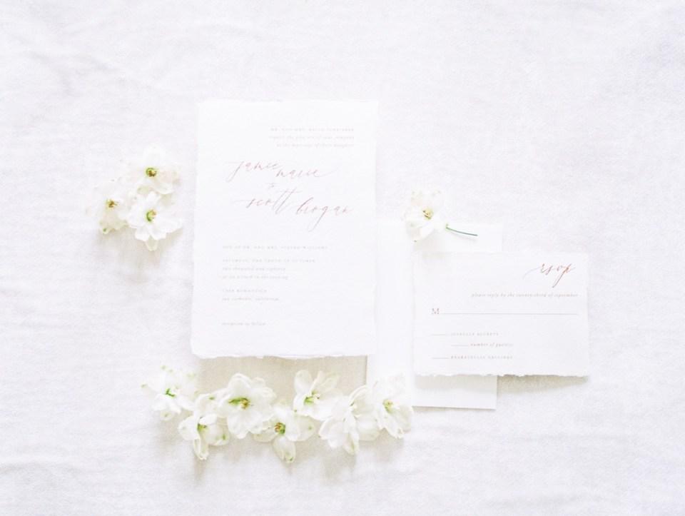 White On White Invitation Inspiration