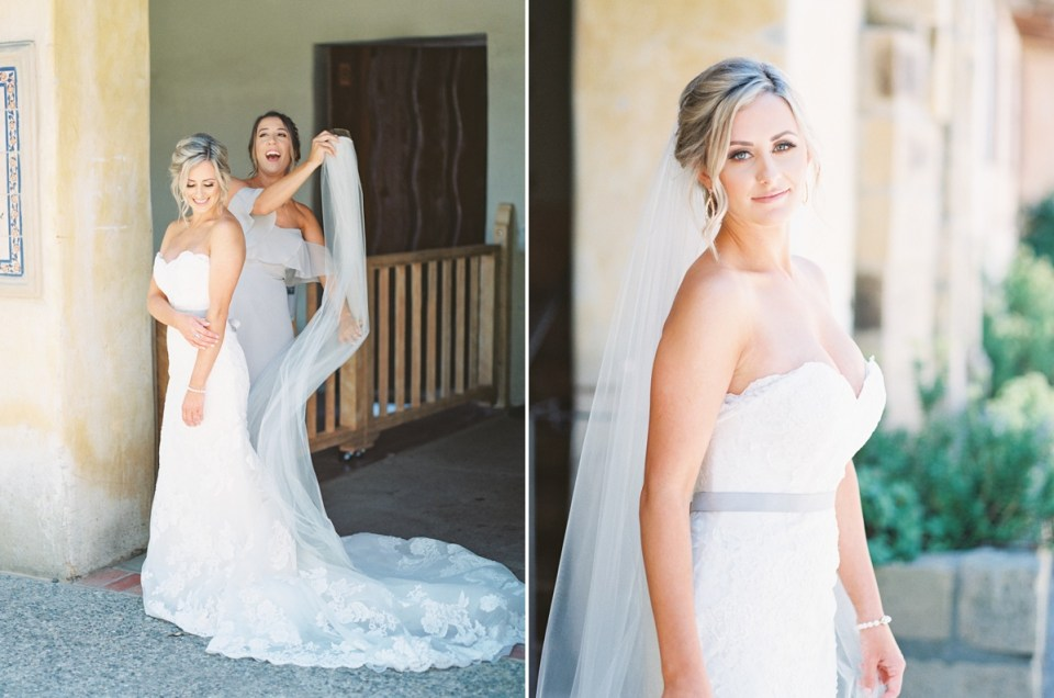 Carmel Mission Wedding Venue in Monterey