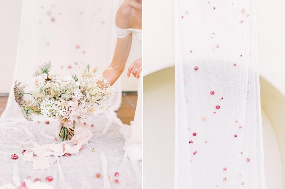 Blush Florals At Estancia La Jolla Wedding