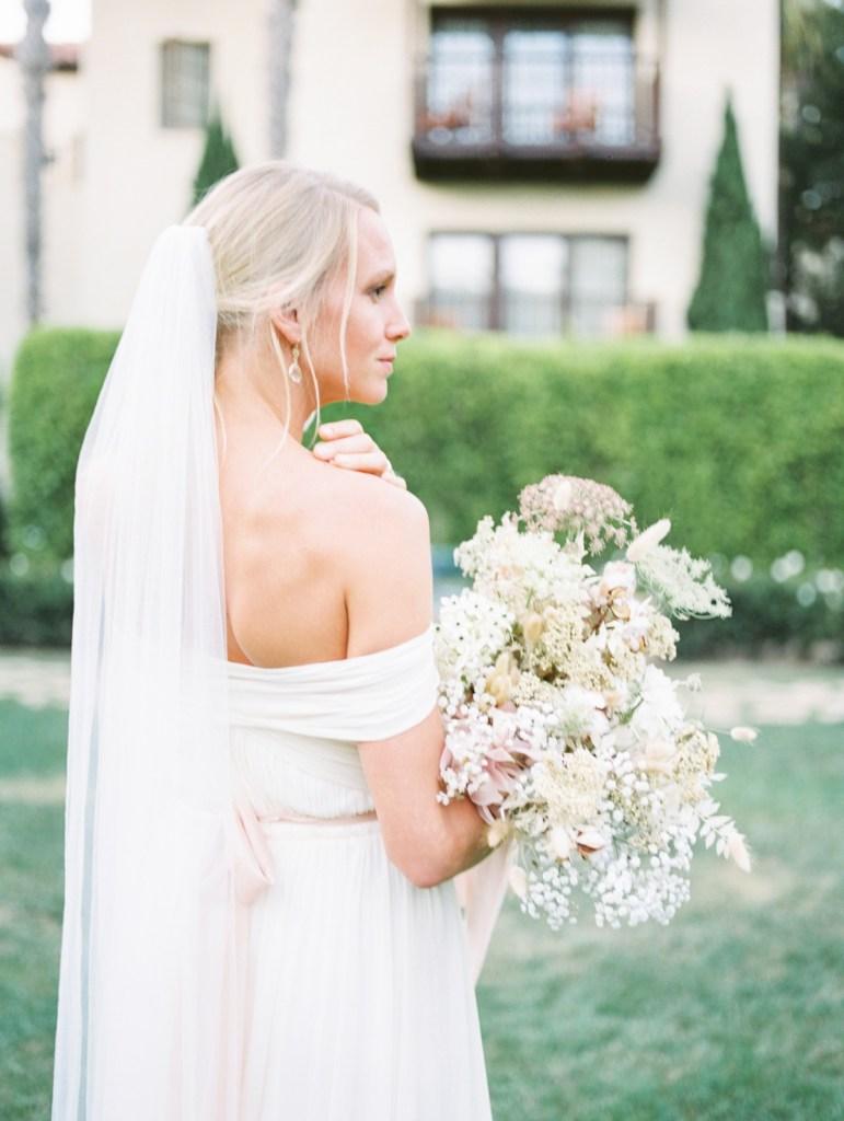 Bridal Portraits At Estancia La Jolla Wedding Venue In San Diego