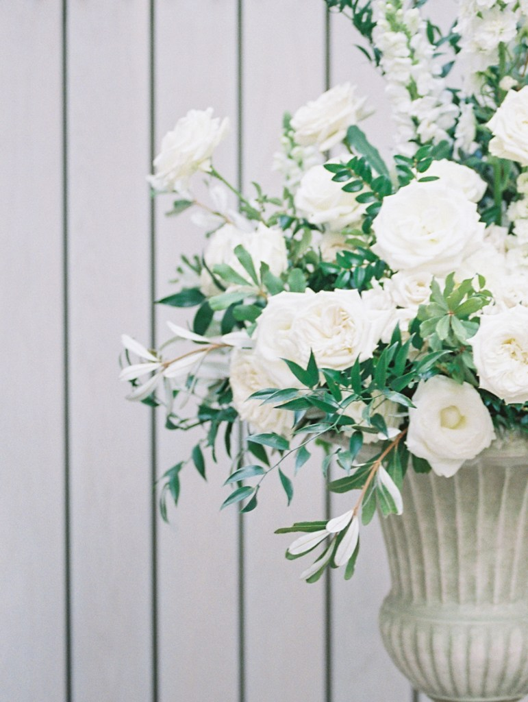 Simple Tuscan Greenery and Florals | Wedding Ceremony Inspiration