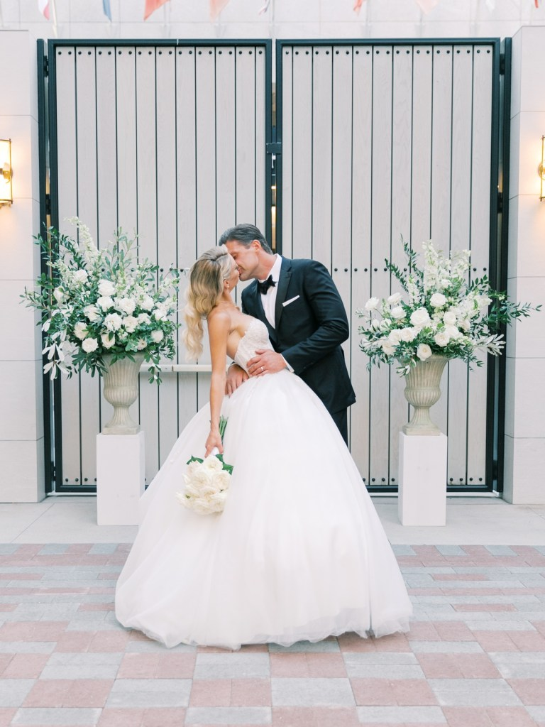 Bride and Groom at The Guild Hotel | San Diego Wedding Venue