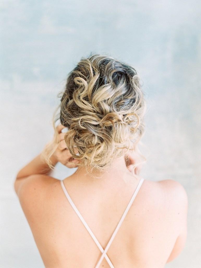 Low Romantic Wedding Updo Wedding Hair Inspiration
