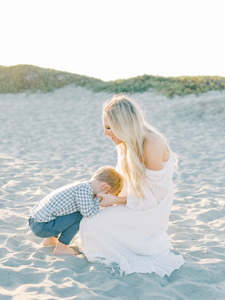 Coronado Family Photos On The Sand Dunes   Wardrobe Inspiration