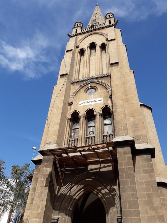 Gothic church turned mosque, Casablanca, © Mandy Sinclair