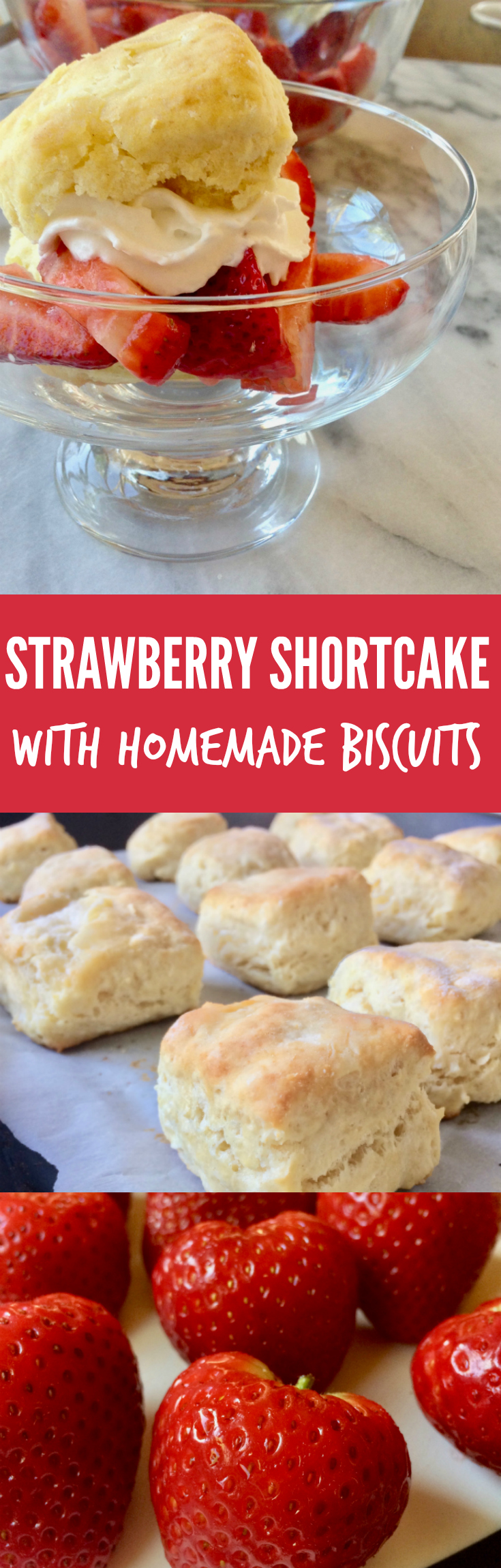 Strawberry Shortcake with Quick Biscuits