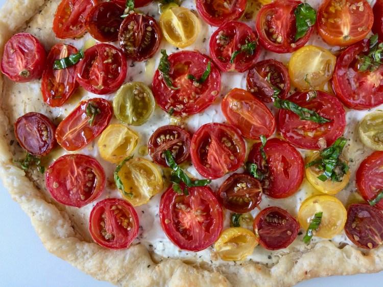 Baked Tomato Tart