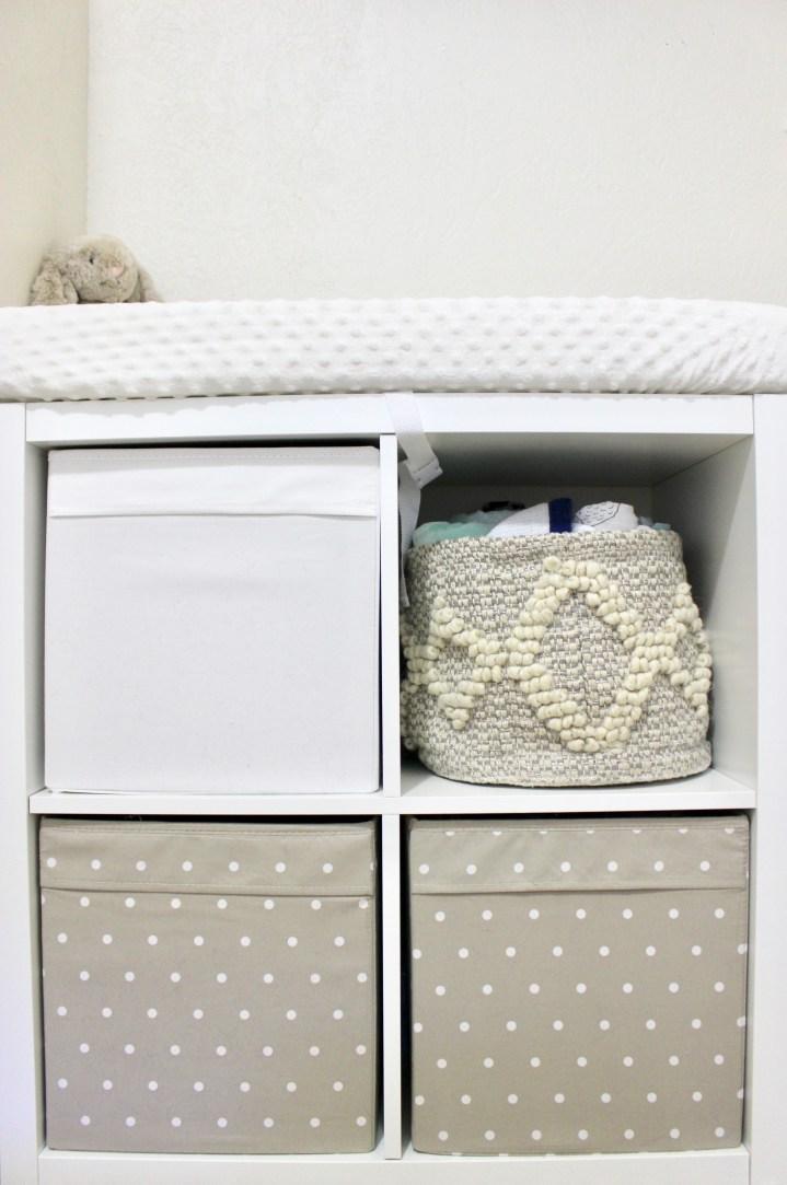 Kallax Nursery Storage and Organization
