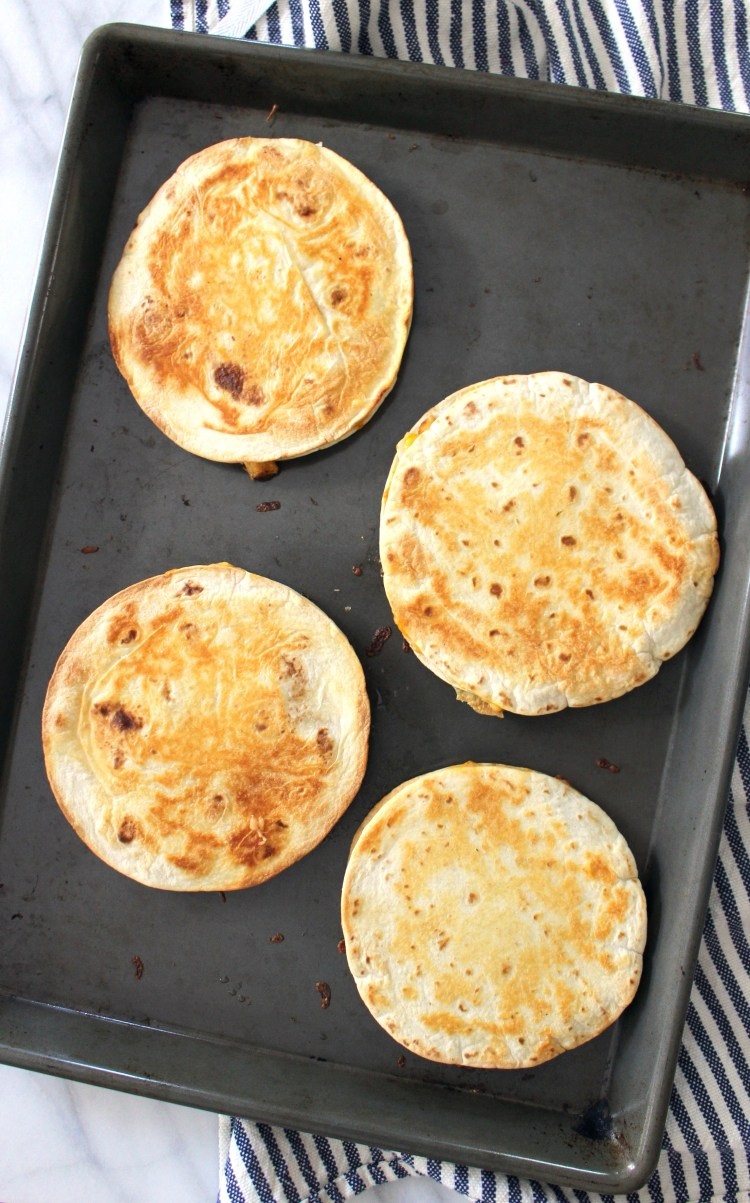 Sheetpan Quesadillas