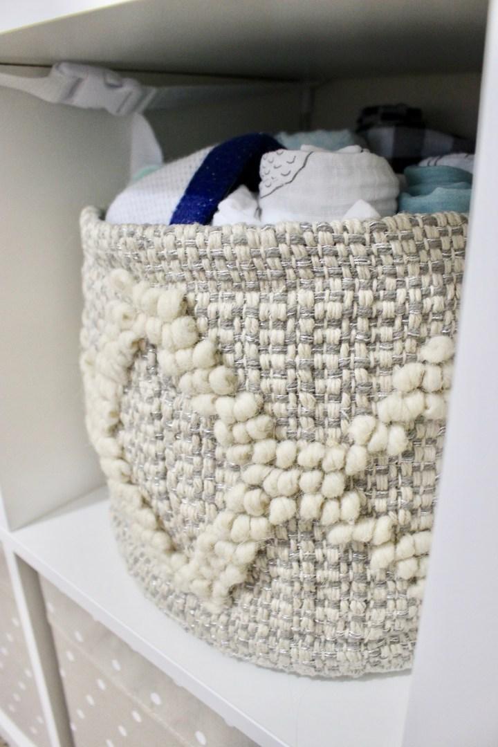 Stylish Nursery Storage