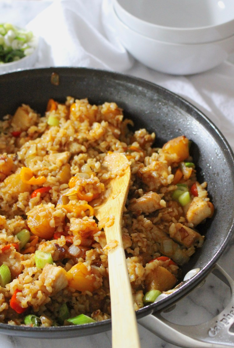 Coconut Pineapple Fried Rice
