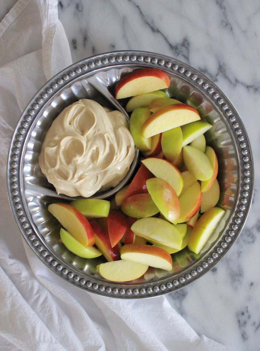 Creamy Brown Sugar Apple Dip
