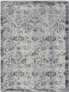 Faded Blue Area Rug