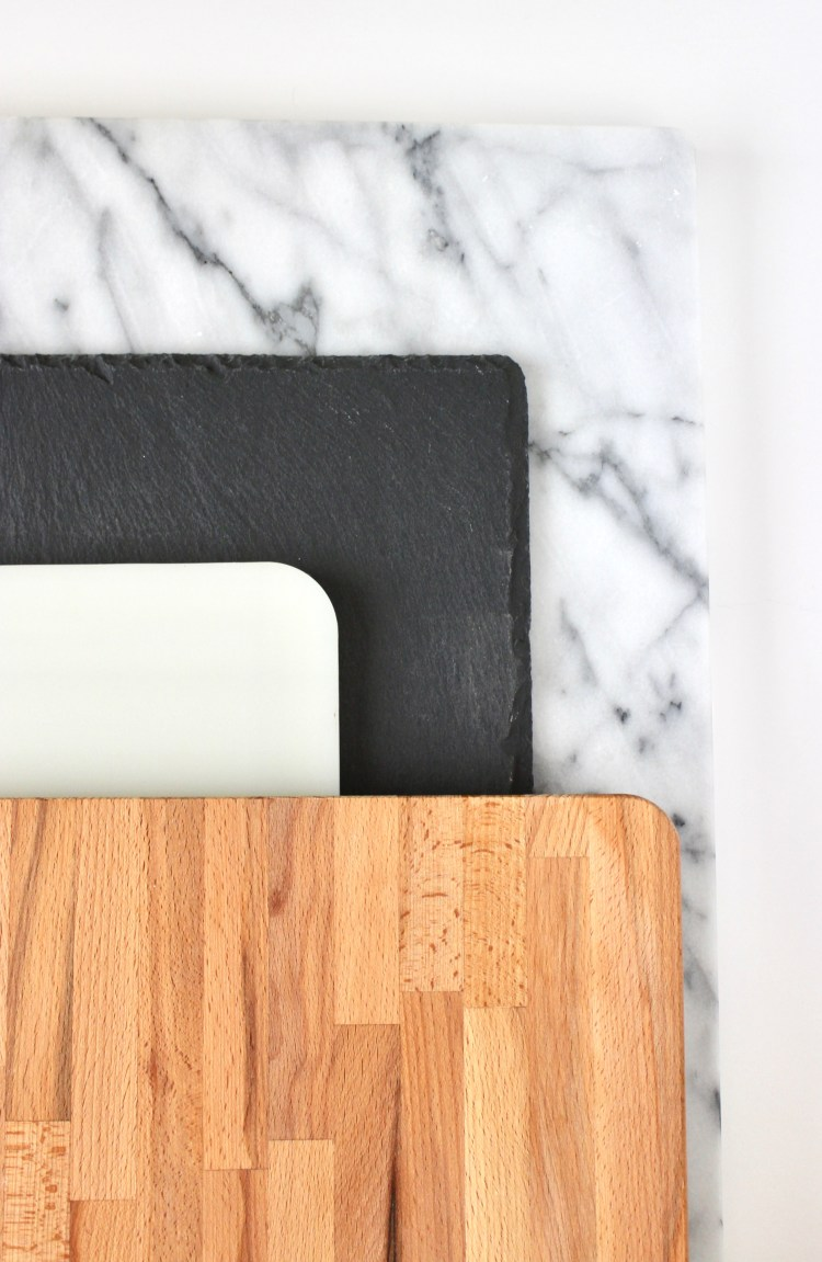 Choosing a Board for a Cheese Board