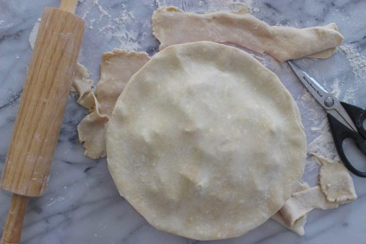 Combination Butter and Shortening Pie Crust Recipe