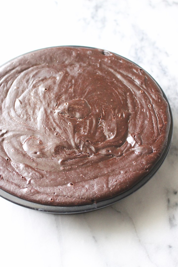 Homemade Flourless Chocolate Cake