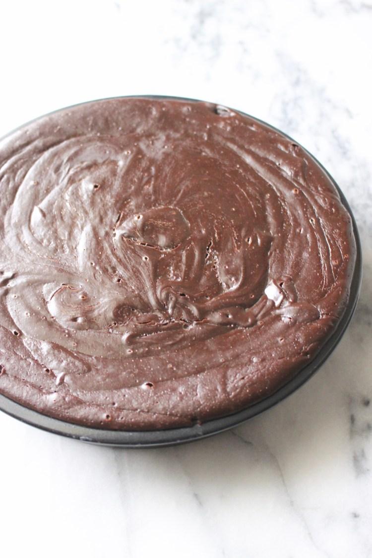 Homemade Flourless Chocolate Cake