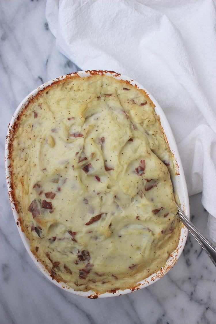Make-Ahead Red Skin Mashed Potatoes