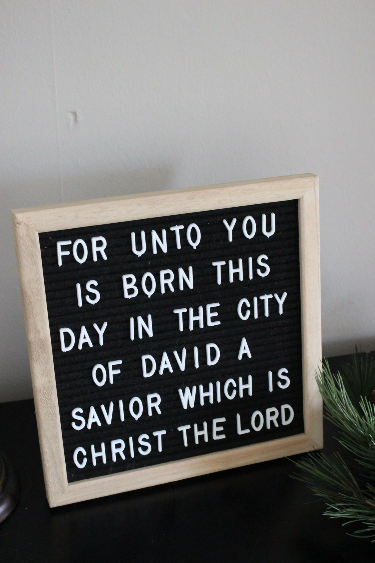 Christmas Letterboard