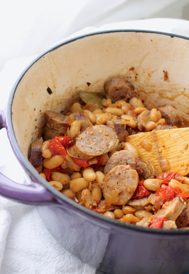 Easy Weeknight Cassoulet