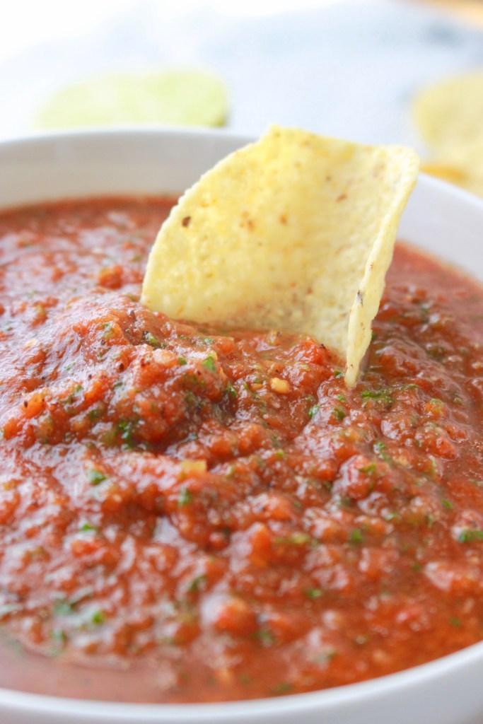 Homemade Restaurant-Style Salsa