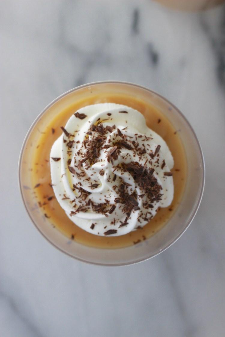 Homemade Butterscotch Pudding Cups