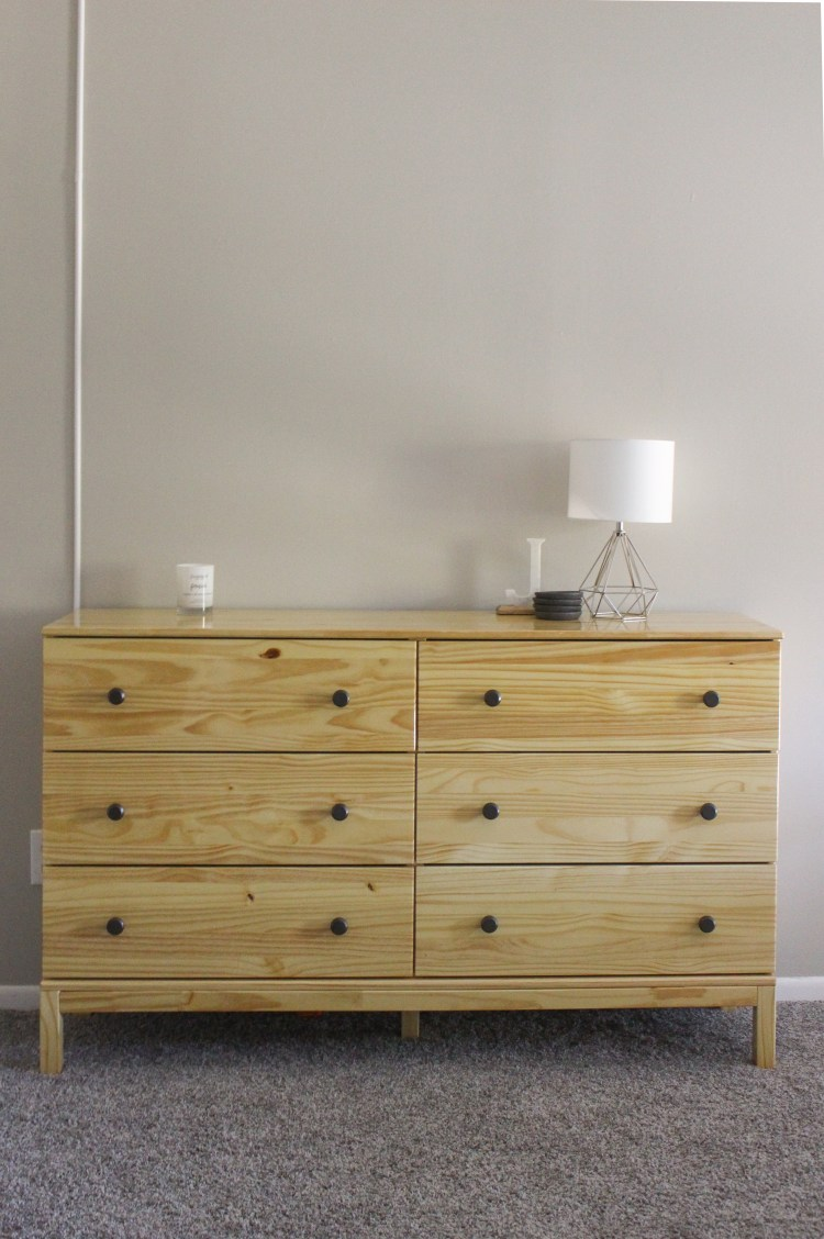IKEA tarva dresser with poly