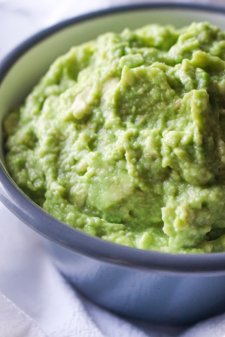 3-ingredient guacamole