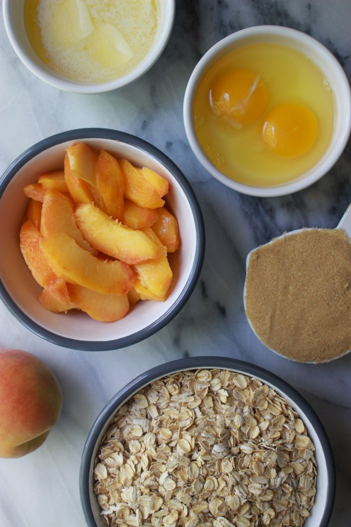 ingredients for baked oats