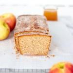 apple cider donut loaf cake