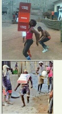 img 20160420 002131 - Lady Carries 3 Crates With Her Breasts And Teeth (Photo)