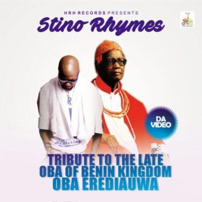 styno bb jpg - VIDEO: Stino Rhymes – Farewell (Tribute To Late Oba Of Benin)