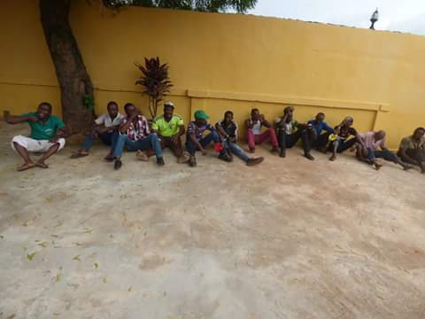 83874 fb img 1476165734451 798790 - Onitsha Market Jubilates As Security Agents Nab Hoodlums Who Extort Money From Traders (Photos)